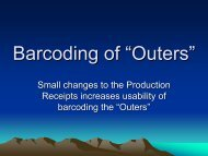 """Barcoding of """"Outers"""" - Radius"""
