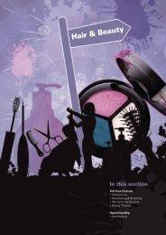 Hair & Beauty - Yeovil College