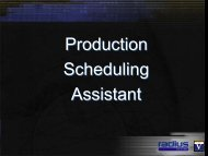 Scheduling Assistant Overview & Workshop - Radius