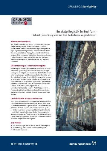 Ersatzteillogistik in Bestform - Grundfos