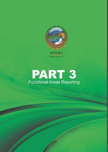 annual report - part 3 - Senqu Municipality