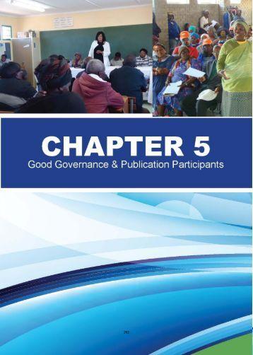 annual report - part 2 chapter 5 - Senqu Municipality