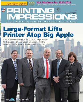 Large-Format Lifts Printer Atop Big Apple - Edison Litho