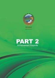 annual report - part 2 chapter 1 - Senqu Municipality