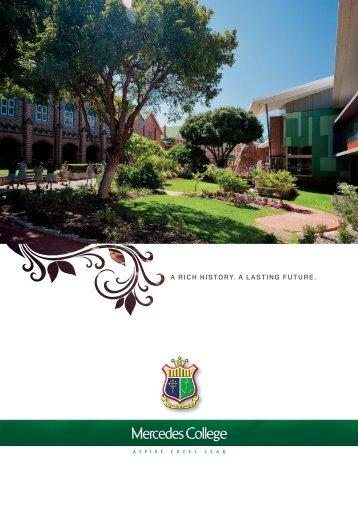 College Brochure - Mercedes College
