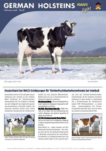 Deutschland bei MACE-Schätzungen für - GGI German Genetics ...