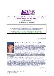Lazarus Nr. 6 - Nurse-Communication
