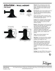 N5494796B Full Cutoff Citation Spec Sheet.indd - Phoenix Products