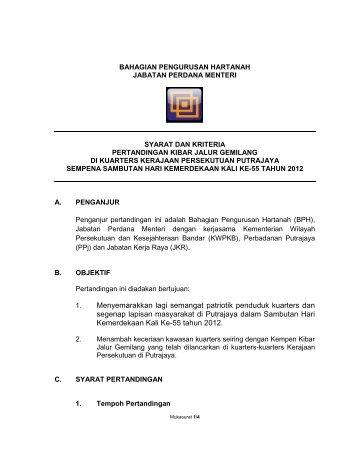 Syarat-syarat Pertandingan Kibar Jalur Gemilang BPH 2012