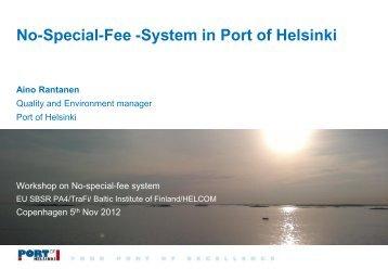 Ms. Aino Rantanen - The Baltic Institute of Finland