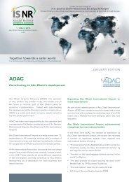 Together towards a safer world - ISNR Abu Dhabi