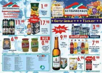 Handzettel Ostern 2011 - Getränkehaus