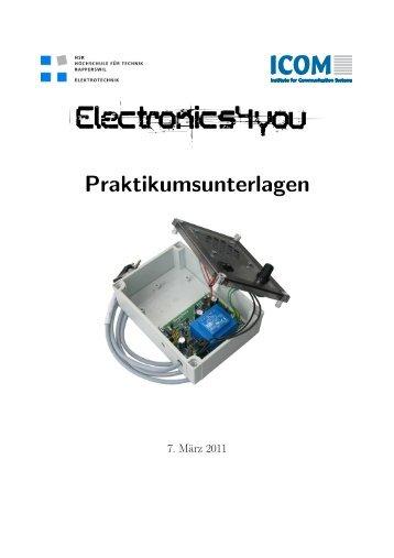 Praktikumsunterlagen - Electronics4you - HSR Hochschule für ...