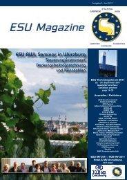 ESU BWL Seminar in Würzburg