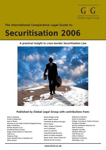 Securitisation 2006. Latvia Chapter - Raidla Lejins & Norcous