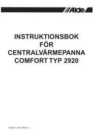 Instruktionsbok 2920.indd - Norrlandsvagnar