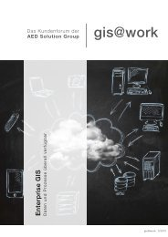 gis@work 1/2013 - AED-SYNERGIS