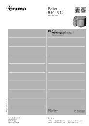 Truma Boiler m/230V 1993 - Neptus AS