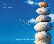 Informe de actividad - Accuracy