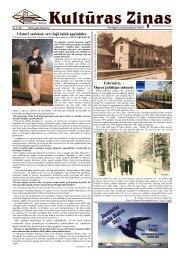 Kulturas Zinas Nr 3 - Ogres Kultūras centrs