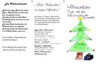 """""""Frohe Weihnachten"""" in einigen Sprachen"""""""
