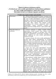 Ministru kabineta noteikumu projekts