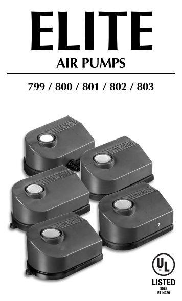 Elite Air Pumps - Rolf C. Hagen Inc.