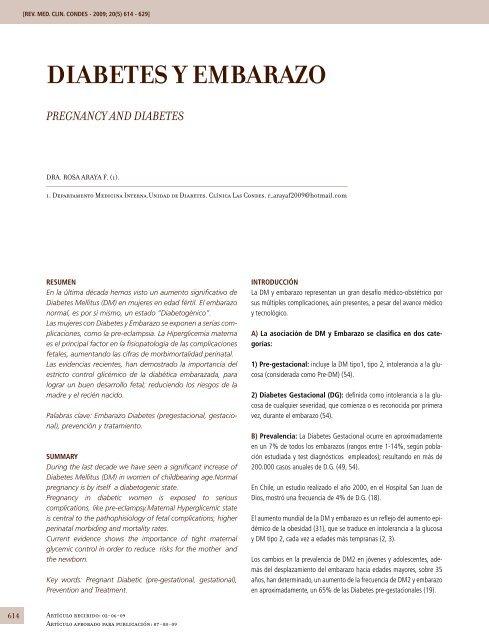Nuevas pautas para la detección de diabetes gestacional 50g