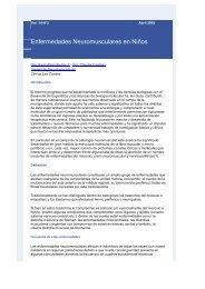 Enfermedades Neuromusculares en Niños - Clínica Las Condes