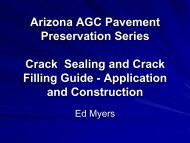 Crack Sealing Procedural Guide - Pavements/Materials Conference