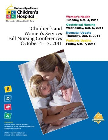 Children's and Women's Services Fall Nursing Conferences October 4