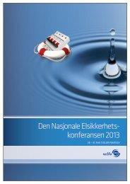 Den Nasjonale Elsikkerhets- konferansen 2013 - Nelfo