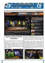 Ausgabe 15 - Fussballabteilung TSG Dissen
