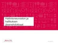 Jäsenehdokkaiden esittelyt - Atriagroup.com