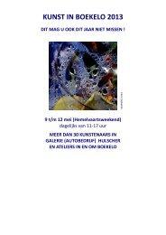 de catalogus 2013 - Boekelo