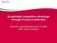 Product Leadership - Atriagroup.com