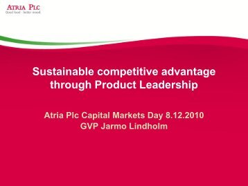 Product Leadership - Atriagroup.com