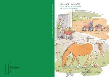 Skitsnack (7184 kb, pdf) - HS Konsult - Hushållningssällskapet