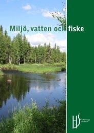 Miljö, vatten och fiske - Hushållningssällskapet
