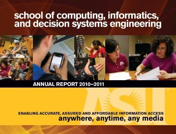 school of computing, informatics, and decision systems engineering