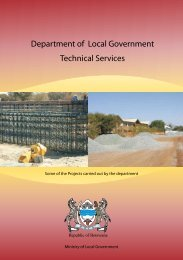 Department of Local Government Technical Services