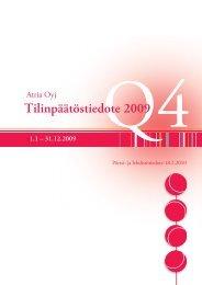 Q4/2009 - Atriagroup.com