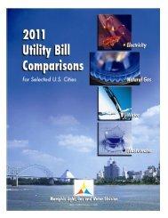 Utility Rates Comparison - Memphis Light Gas & Water