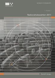Dokumentation NR-Wahlen 2011 Kt. Aargau (5 MB ... - Wahlkampfblog
