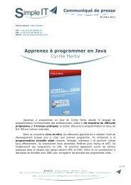 Apprenez à programmer en Java Cyrille Herby