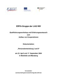 ERFA-Dok-III.pdf - Entwicklung sozialer Unternehmen in NRW
