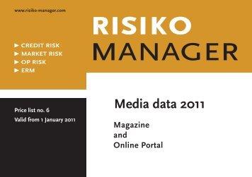 Media data 2011 - Risiko-Manager.com