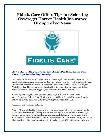 Fidelis Long Term Home Care Program