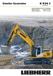 R924C Crawler Excavator - Coastline Equipment