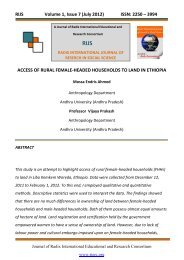 RIJS Volume 1, Issue 7 (July 2012) - Radix International Educational ...